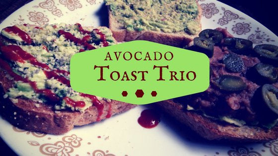 Avocado Toast Trio