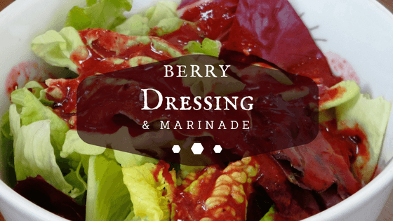 Berry Dressing and Marinade