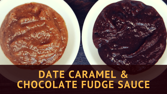 Date Caramel & Chocolate Fudge Sauce