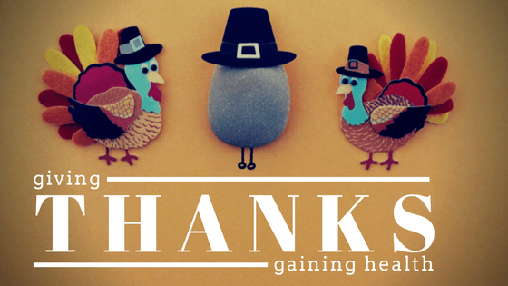 Giving Thanks, Gaining Health?