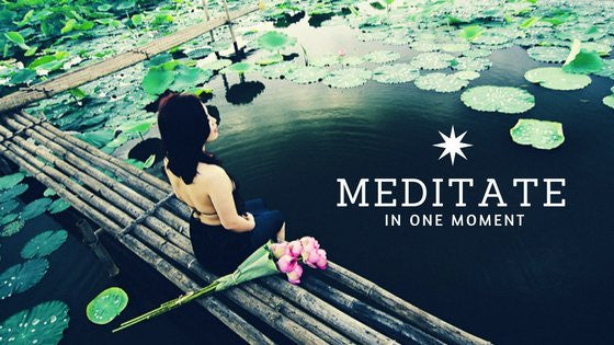 The One Moment Meditation For Busy People