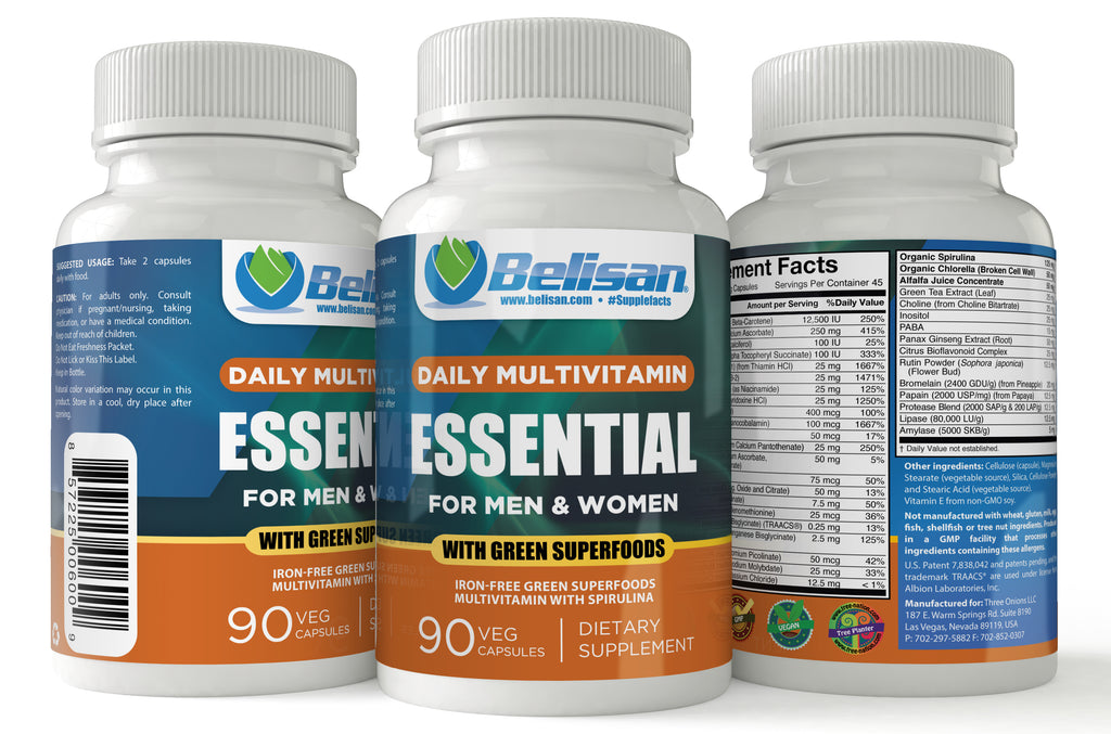 Belisan® Daily Multivitamin Essential