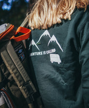 Sudadera Verde Adventure is Calling