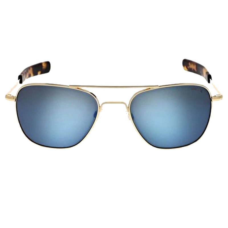 Aviator 55mm 23K Gold Skytec P Cobalt