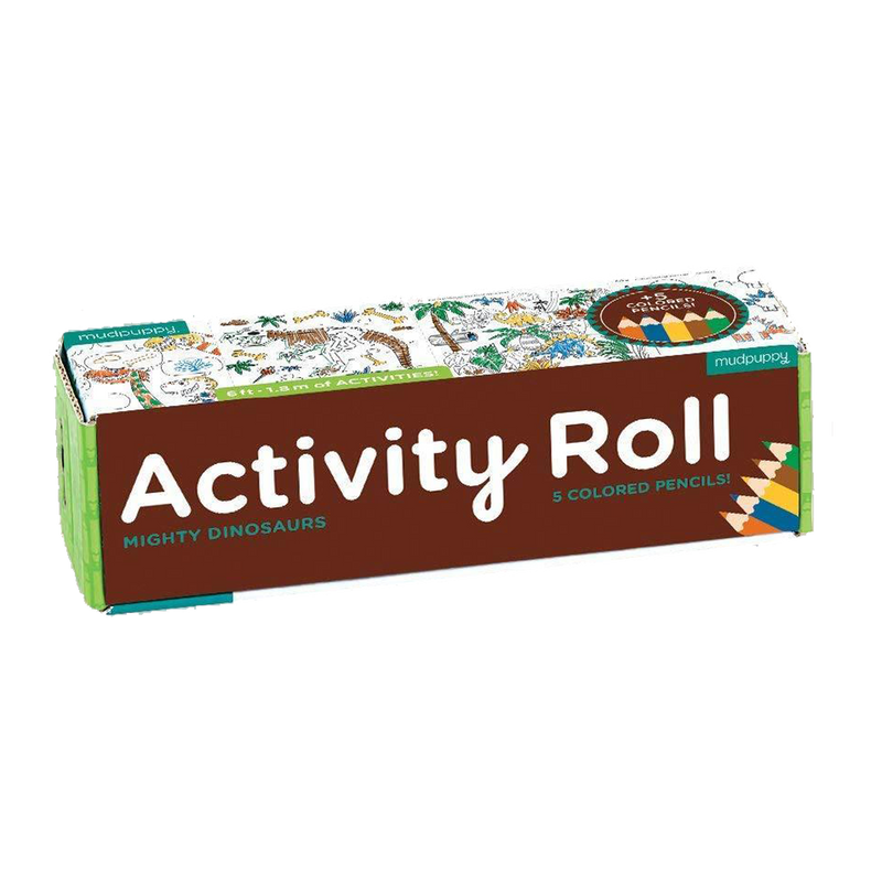 Mighty Dinosaur Activity Roll