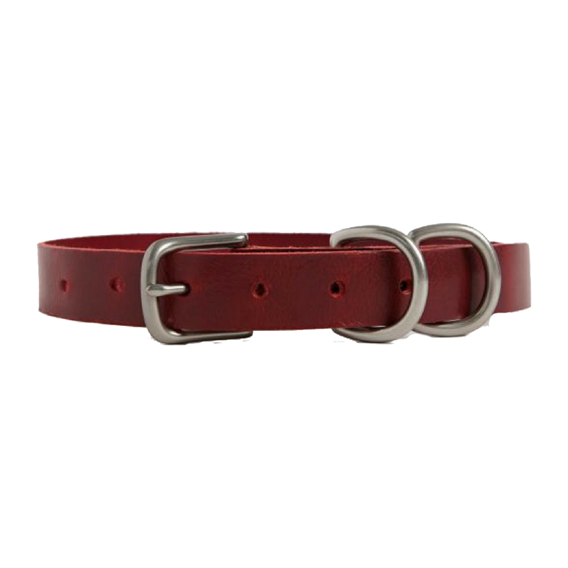 DOG COLLAR SMALL DOUGLAS RED