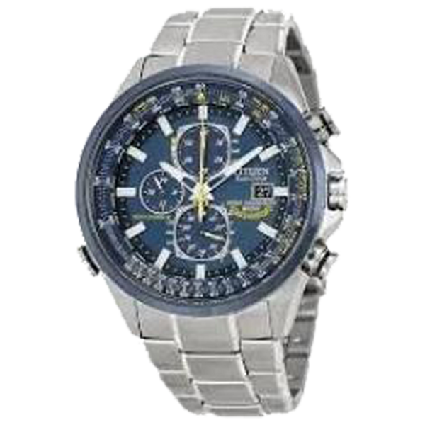 CITIZEN MEN ECO WR200 SSTB BRAC BLUE