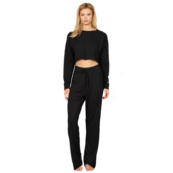 Extreme High-Waist Cinch Pant