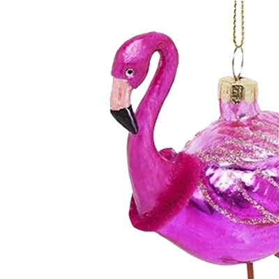 Festive Ornament | Flamingo