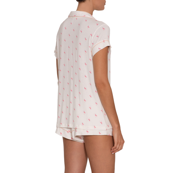 Flamingo Short PJ Set