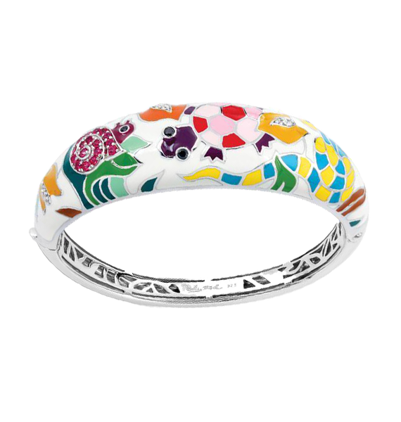 Galapagos White Bangle