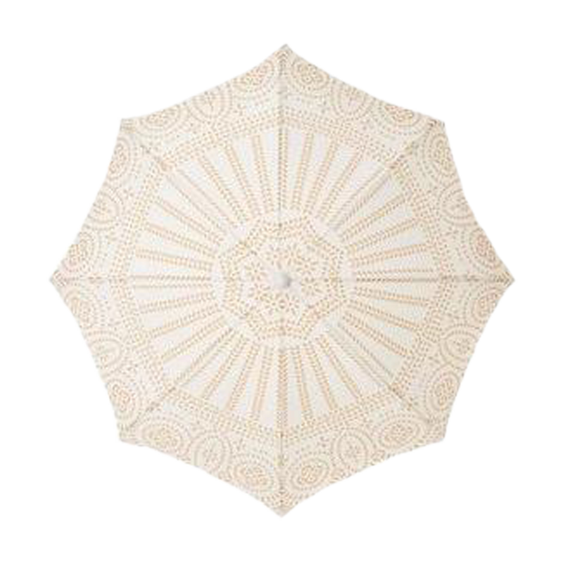 HOLIDAY BEACH UMBRELLA - BRASS EYELET