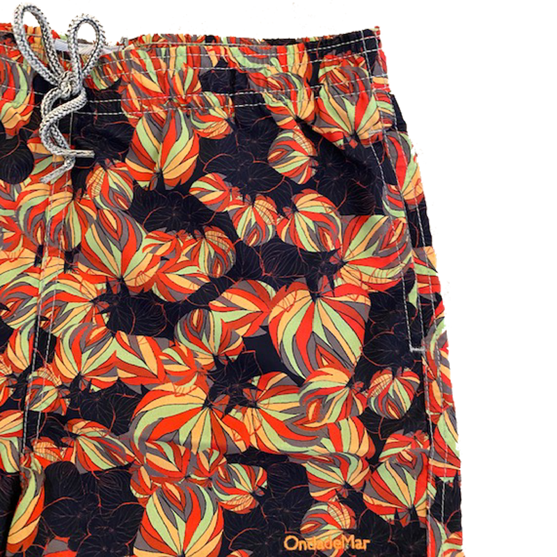 Red Leaf Swim Short