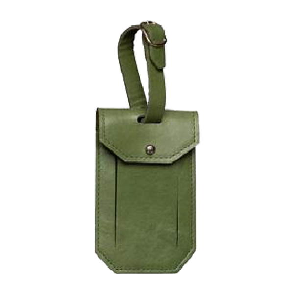 LUGGAGE TAG NOTTING HILL BOTTLE GREEN