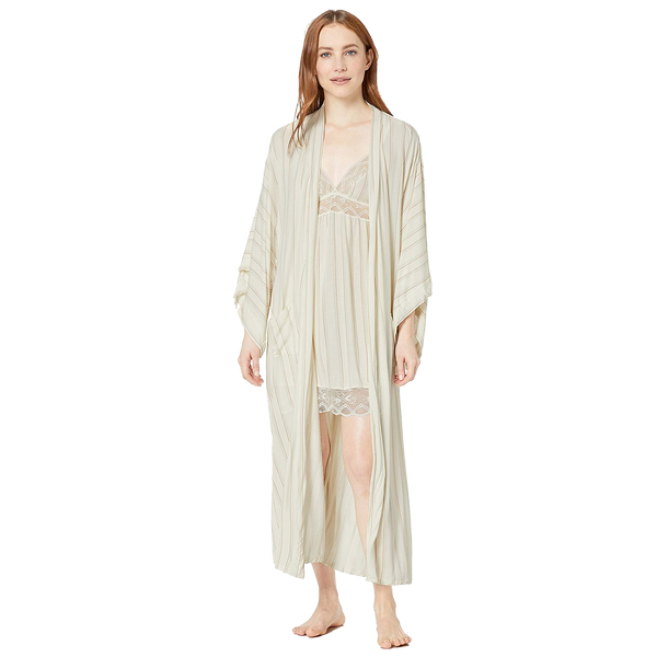 Summer Stripes Parlor Robe