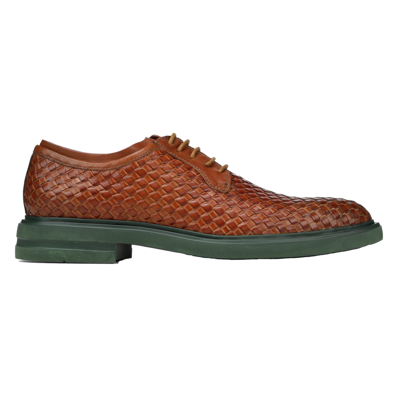 Eloi Woven Leather Oxford
