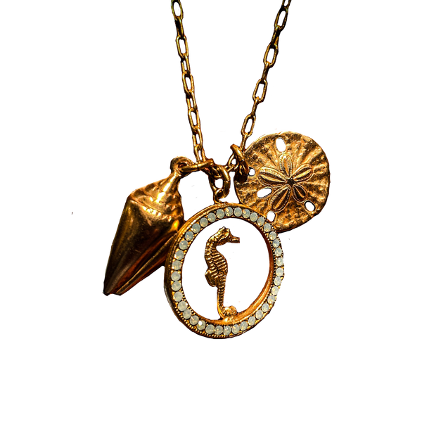 Gold Seaside Necklace