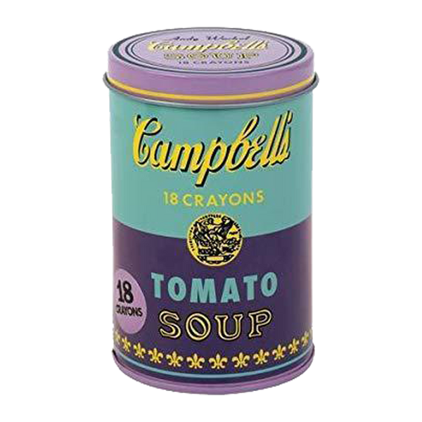 Andy Warhol - Set of Crayons - Campbell's Soup Cans