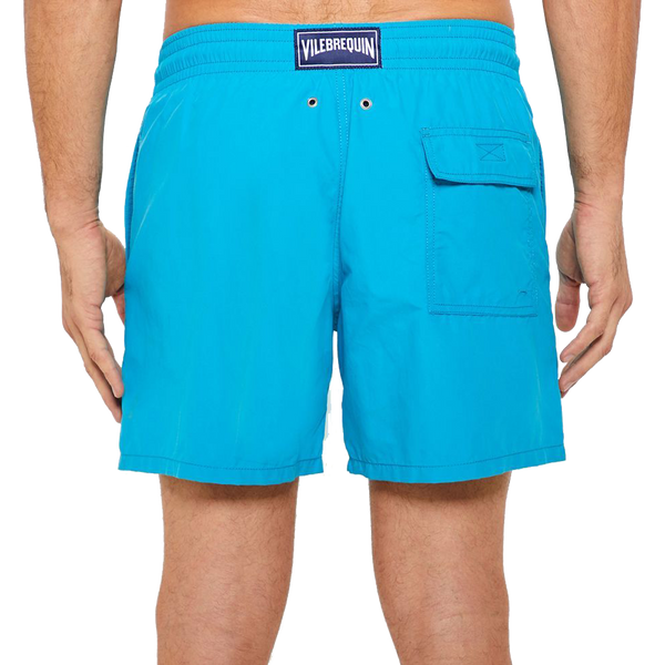 Blue Water-Reactive 'Double Focus' Moorea Swim Shorts