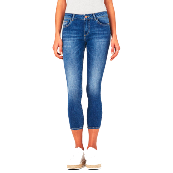 Florence Crop Mid Rise Skinny