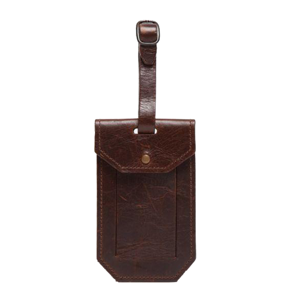 LUGGAGE TAG BROMPTON BROWN