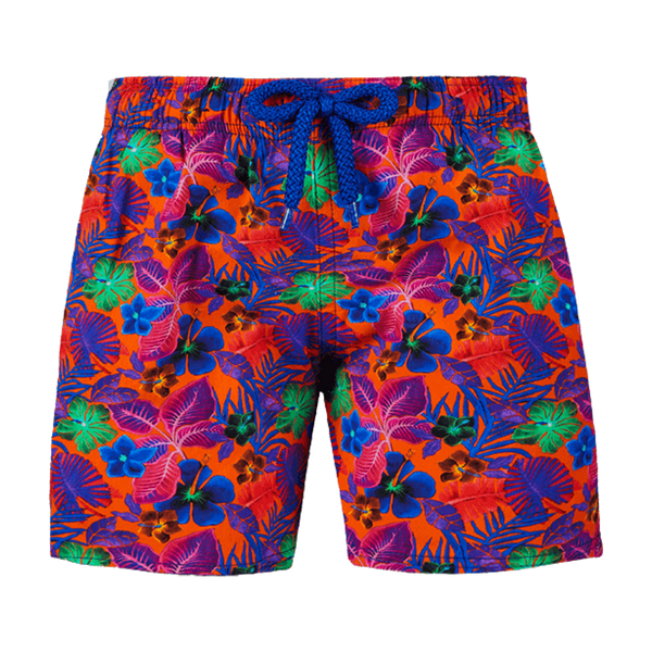 MEN STRETCH SWIM TRUNKS PUERTO RICO