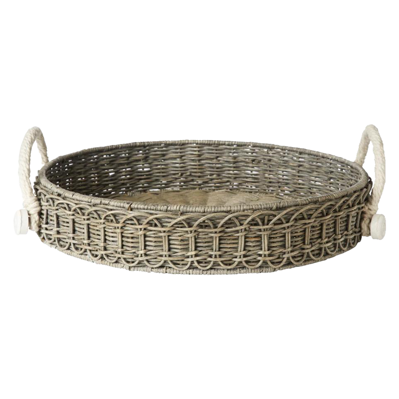 Waveney Wicker Round Tray