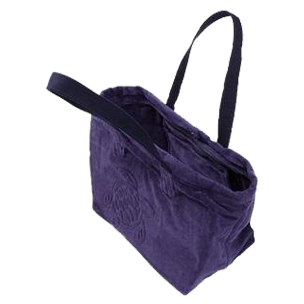 BIG TERRY CLOTH BEACH BAG JACQUARD SOLID