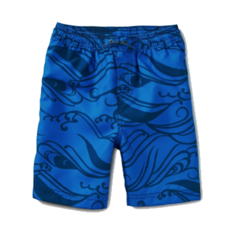 Pattern Swim Trunks