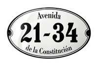 Address Plaques placas esmaltadas