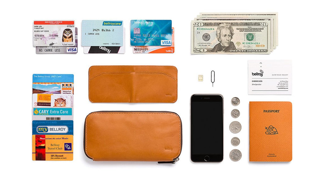 Bellroy ベルロイ Carry Out wallet SIMカードポケット付き
