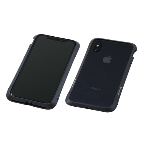 iPhone XS / X アルミバンパーケース Cleave Aluminum Bumper Virtue ブラック