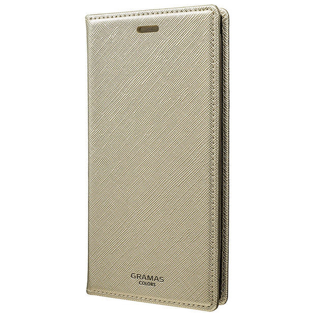 GRAMAS グラマス  iPhone XS / X 手帳型ケース  EURO Passione Book PU Leather Case