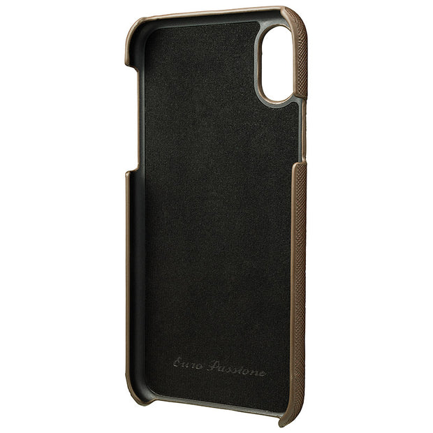 GRAMAS グラマス iPhone XS / X EURO Passione Shell PU Leather Case