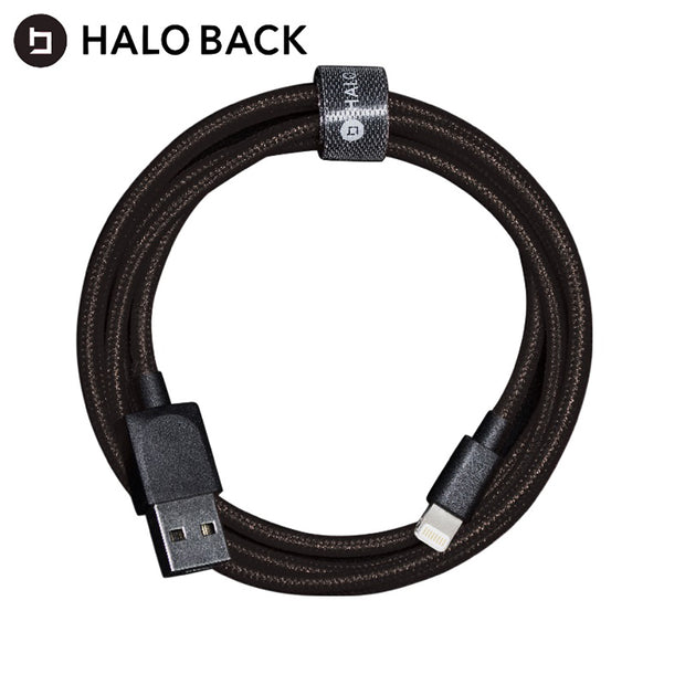 MFI認証 タフケーブル Lightning HALO BACK Super Cable 1.0m