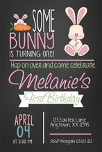 Bunny Kids Birthday Custom Invitations