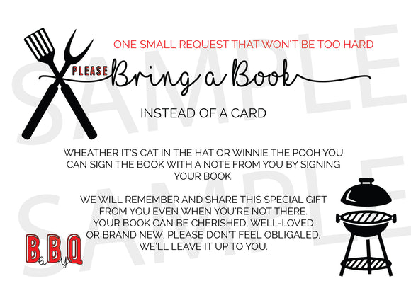 BaBy Q Book request cards - Invitetique
