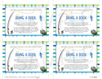 Fishing Book request cards - Invitetique