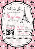 Paris Birthday Invitation - Invitetique