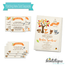 Sweet Woodland Friends Neutral baby Shower Invites
