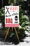 Baby shower BBQ coed shower decoration, bbq party ideas