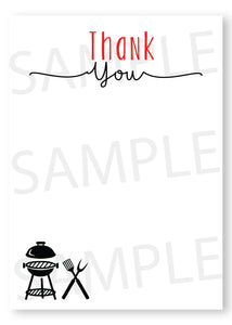 BaBy Q Fill in Thank You card - Digital - Invitetique
