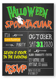 Ghostly Gathering Halloween Invitations