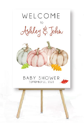 baby shower harvest autumn party decoration