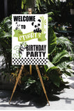 panda bear birthday decoration, panda birthday