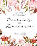 Wedding or Engagement Party Welcome Sign - Invitetique