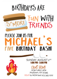 s'mores birthday party
