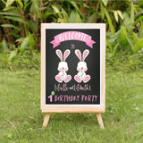 Some bunnies 1st birthday party decoration