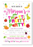 Tutti Frutti Birthday Party Invitation - Invitetique