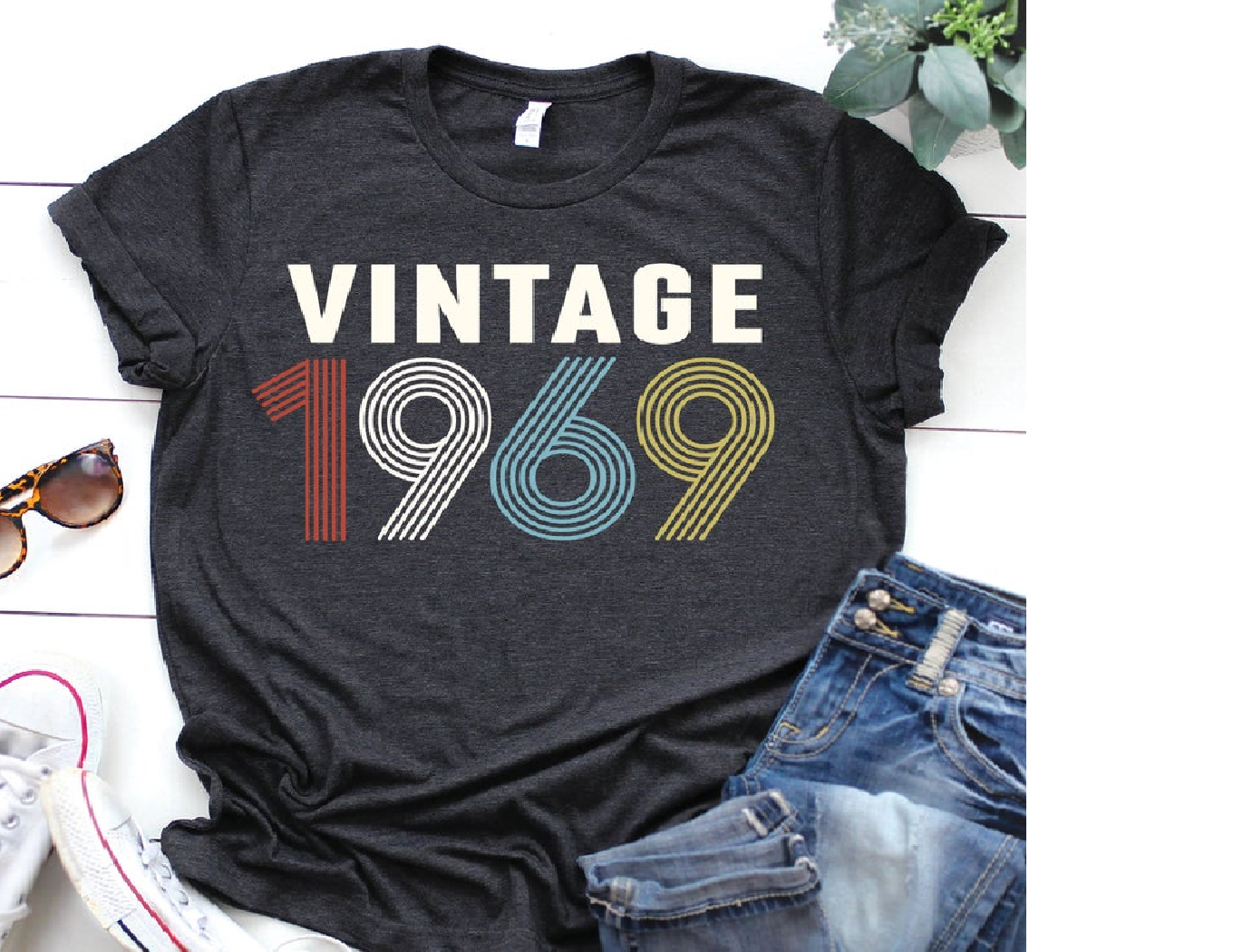 1969 shirt - 50th birthday T-shirt Unisex
